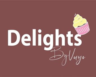 Delights logo white