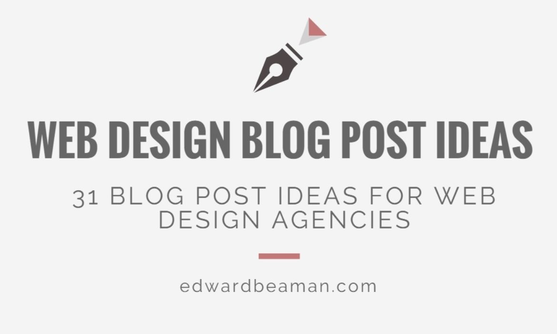 Web-Design-Blog-Post-Ideas