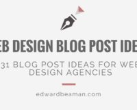 10 Blog Post Ideas for Website Design Agencies